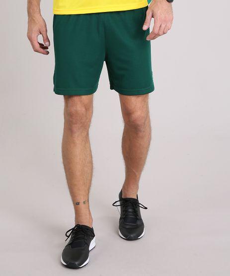 Bermuda-Masculina-Brasil-Ace-de-Futebol-com-Recortes-Verde-Escuro-9174791-Verde_Escuro_1