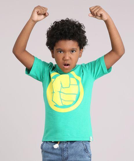 Camiseta-Infantil-Hulk-Manga-Curta-Gola-Careca-Verde-9158816-Verde_1