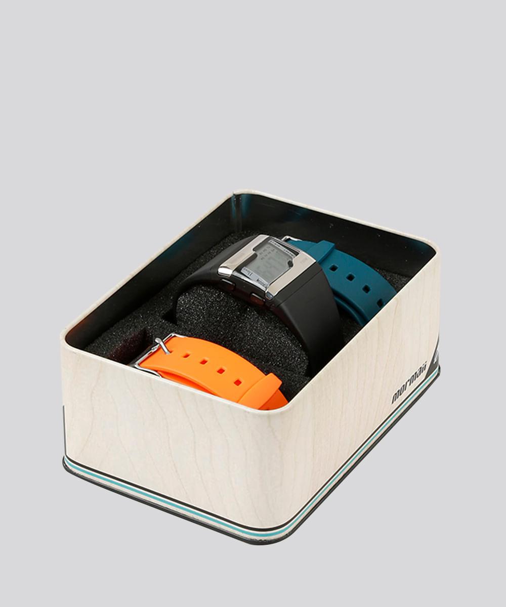 9543a0b230a Relógio Digital Mormaii Troca Pulseiras Masculino - FZU8L Multicor - Único