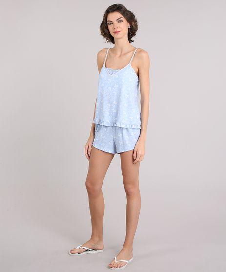 Short-Doll-Feminino-Estampado-Paisley--Azul-Claro-9084345-Azul_Claro_1