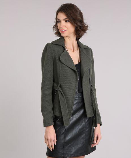 Casaco-Feminino-com-Bolso-Verde-Militar-8892720-Verde_Militar_1