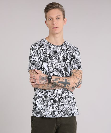 Camiseta-Masculina-Estampada-Os-Vingadores-Manga-Curta-Gola-Careca-Branca-9081677-Branco_1