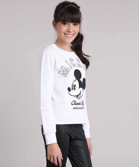 Blusao-Infantil-em-Moletom--Mickey-Mouse-Decote-Redondo-Manga-Longa-Off-White-9132916-Off_White_1