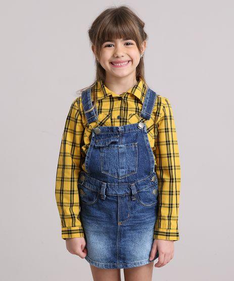 Jardineira-Jeans-Infantil-Short-Saia-Azul-Escuro-9186020-Azul_Escuro_1