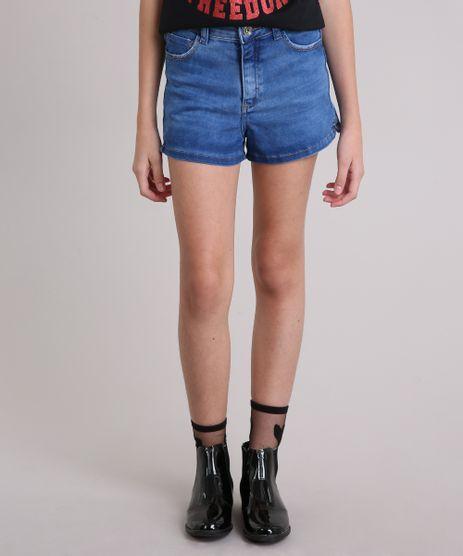 Short-Jeans-Infantil-com-Puidos-Azul-Medio-9169053-Azul_Medio_1