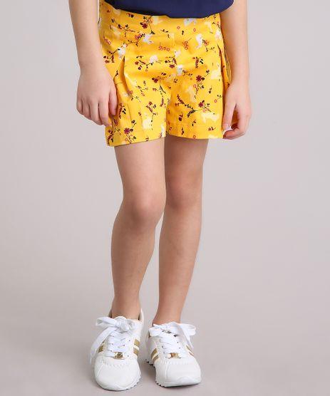 Short-Saia-Infantil-Estampada-Floral-Amarelo-8905780-Amarelo_1