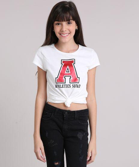 Blusa-Infantil--Athletics-Squad--Manga-Curta-Decote-Redondo-em-Algodao---Sustentavel-Off-White-9141778-Off_White_1