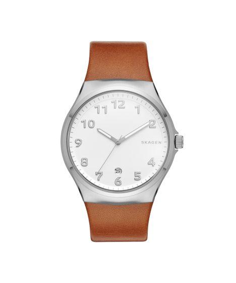 b5cbe69cc008d Relógio Skagen Sunby Prata - SKW6269 0BN - cea