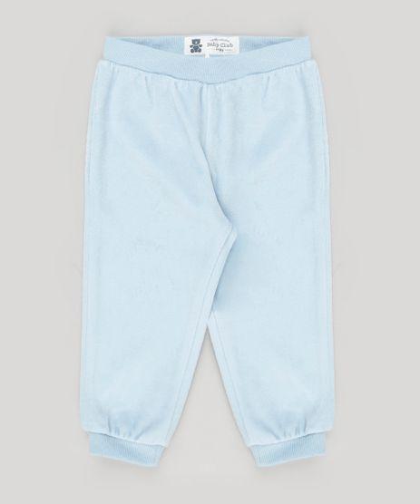 Calca-Infantil-em-Plush-de-Algodao---Sustentavel-Azul-Claro-8940829-Azul_Claro_1