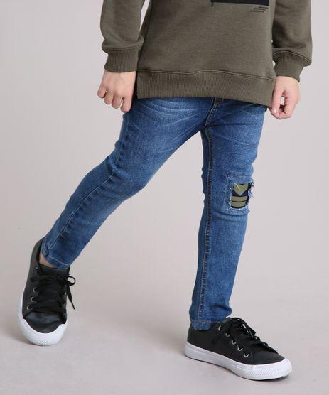 Calca-Infantil-Jeans-com-Recorte-em-Algodao---Sustentavel-Azul-Escuro-9150163-Azul_Escuro_1