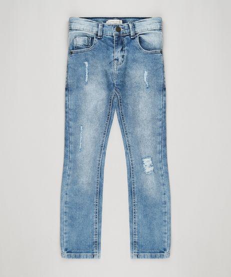 Calca-Jeans-Infantil-com-Puidos-Azul-Medio-9146458-Azul_Medio_1