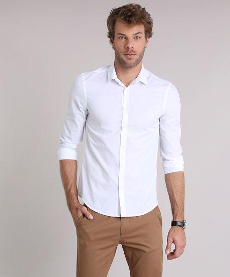 Camisa-Masculina-Slim-Manga-Longa-Branca-7967961-Branco_1