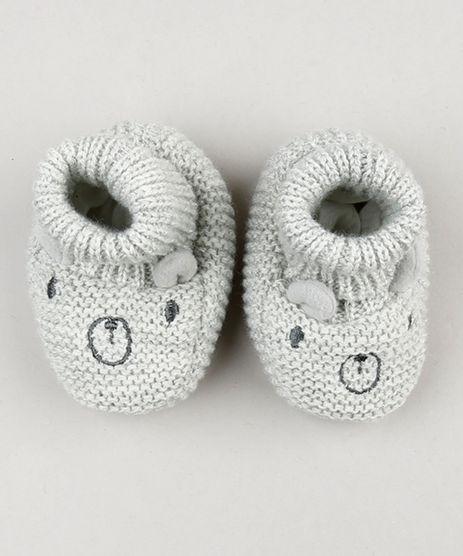 Sapato-Infantil-em-Trico-com-Orelhinhas-Cinza-9075318-Cinza_1