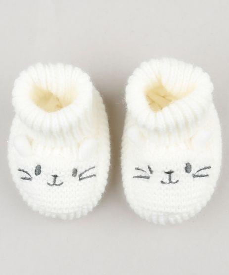 Sapato-Infantil-em-Trico-com-Orelhinhas-Off-White-9075321-Off_White_1