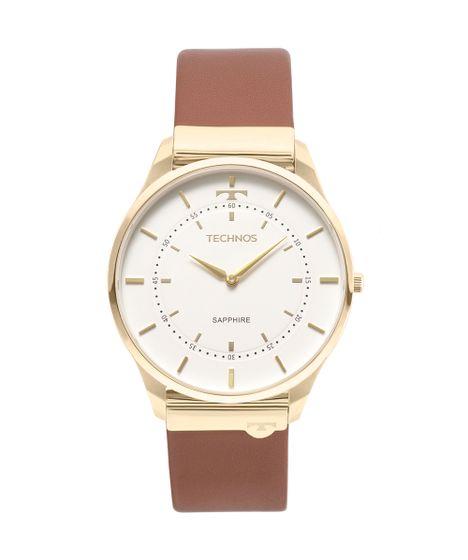 6e7d4f05a9c4c Relógio Technos Unissex Slim Dourado - cea