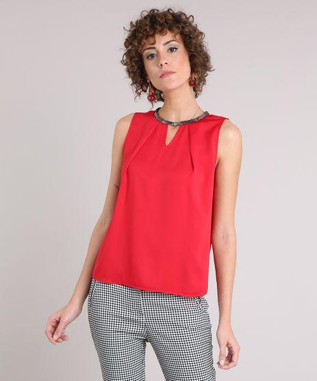Regata-Feminina-Acetinada-com-Corrente-Decote-Redondo-Vermelha-8899237-Vermelho_1