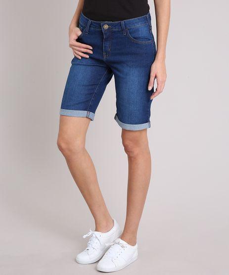 Bermuda-Jeans-Feminina-Ciclista-Barra-Dobrada-Azul-Escuro-8503509-Azul_Escuro_1