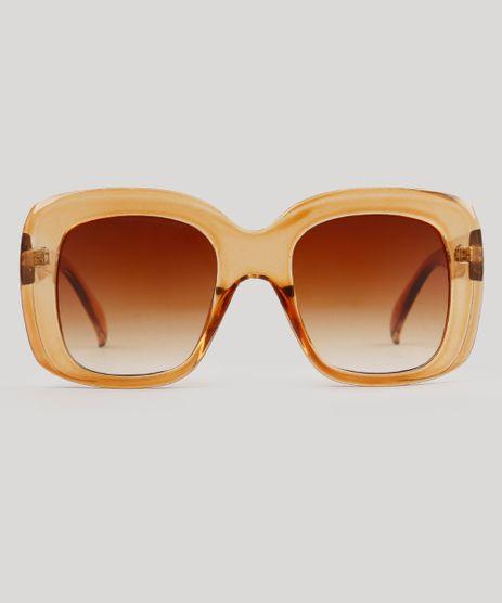 Oculos-de-Sol-Quadrado-Feminino-Oneself-Marrom-9239814-Marrom_1