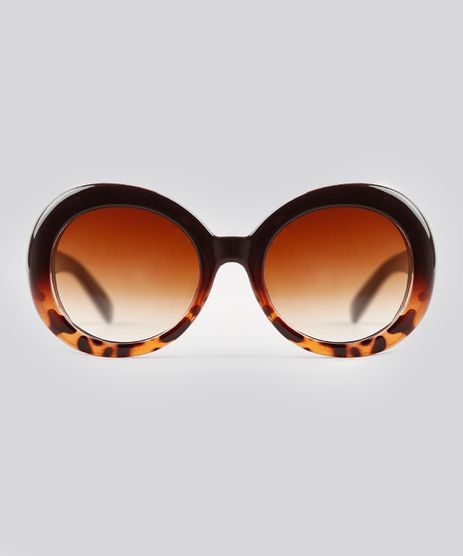 Oculos-de-Sol-Redondo-Feminino-Oneself-Tartaruga-9239808-Tartaruga_1