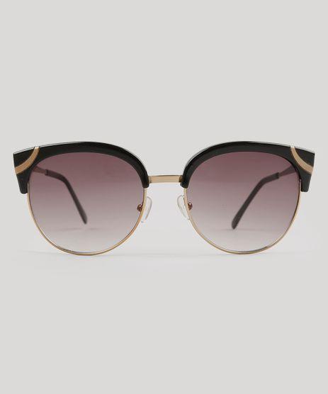 Oculos-de-Sol-Redondo-Feminino-Oneself-Preto-9010803-Preto_1