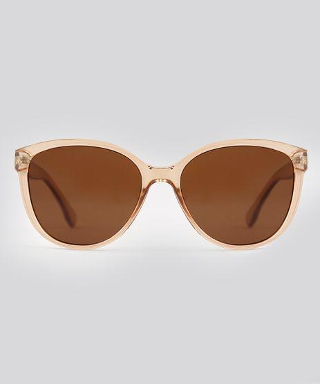 Oculos-de-Sol-Redondo-Feminino-Oneself-Marrom-9224795-Marrom_1