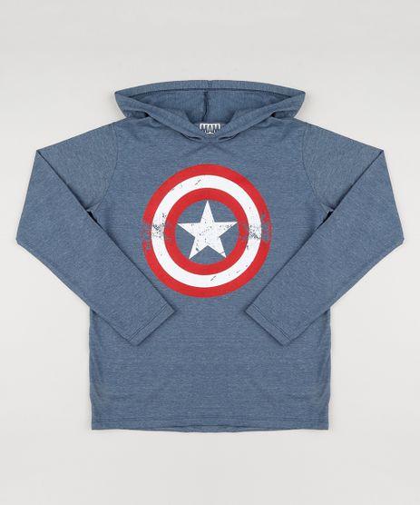 Camiseta-Infantil-Capitao-America-com-Capuz-Manga-Longa-Azul-9147837-Azul_1