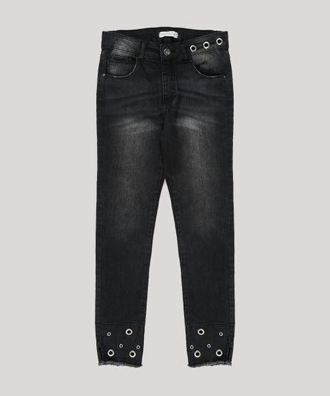Calca-Jeans-Infantil-com-Ilhos-Preta-9068669-Preto_1