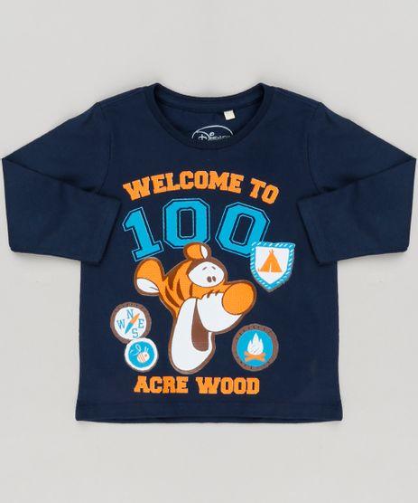 Camiseta-Infantil-Tigrao-Manga-Longa-Gola-Careca-em-Algodao---Sustentavel-Azul-Marinho-9217420-Azul_Marinho_1