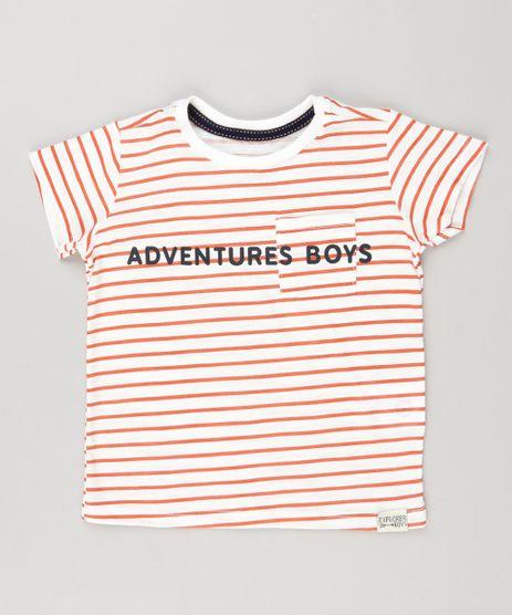 Camiseta-Infantil-Listrada--Adventure-Boys--Manga-Curta-Gola-Careca-em-Algodao---Sustentavel-Off-White-9133453-Off_White_1