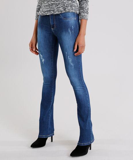 Calca-Jeans-Feminina-Flare-Sawary-Cintura-Alta-Azul-Escuro-9135615-Azul_Escuro_1