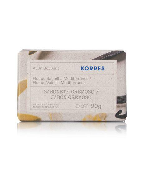 Sabonete-em-Barra-Korres-Flor-de-Baunilha-Mediterranea-90g-Unico-9988914-Unico_1