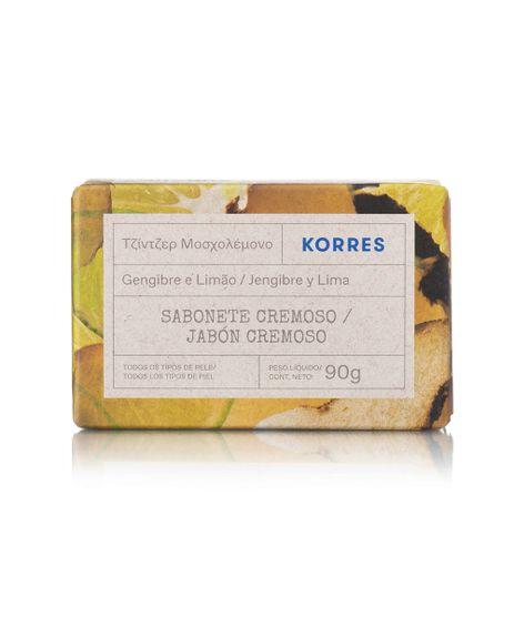 Sabonete-em-Barra-Korres-Gengibre-e-Limao-90g-Unico-9988911-Unico_1