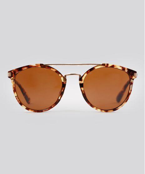 Oculos-de-Sol-Redondo-Feminino-Oneself-Tartaruga-9215415-Tartaruga_1