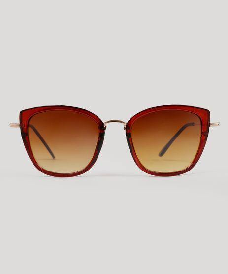 Oculos-de-Sol-Quadrado-Feminino-Oneself-Marrom-9215490-Marrom_1