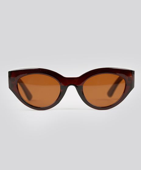 Oculos-de-Sol-Gatinho-Feminino-Oneself-Marrom-9215387-Marrom_1