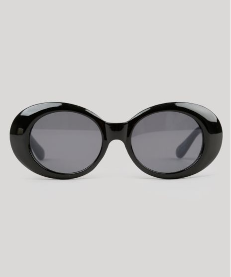 Oculos-de-Sol-Redondo-Feminino-Oneself-Preto-9215457- b837221d93