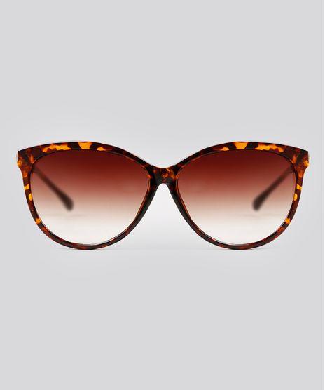 Oculos-de-Sol-Redondo-Feminino-Oneself-Tartaruga-9215511-Tartaruga_1