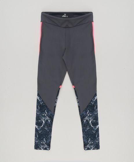 Calca-Legging-Infantil-Esportiva-Ace-com-Recorte-Neon-Chumbo-9210094-Chumbo_1