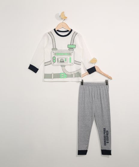 Pijama-Infantil-Manga-Longa-Astronauta-Off-White-9978426-Off_White_1