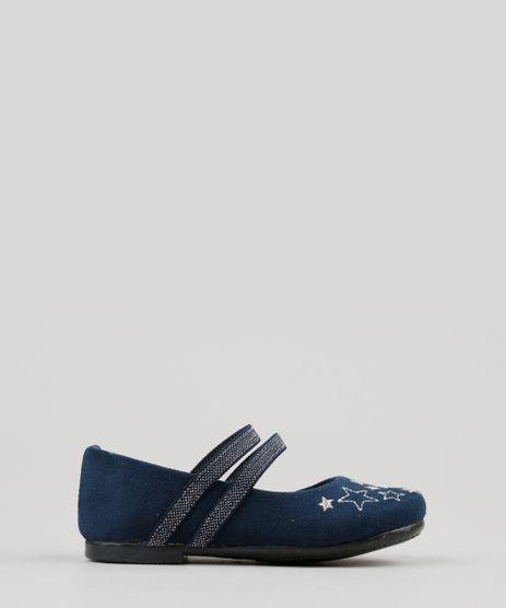 Sapatilha-Infantil-em-Suede-com-Bordado-Azul-Marinho-9155677-Azul_Marinho_1