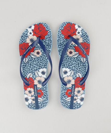 Chinelo-Feminino-Ipanema-Animal-Print-Floral-Azul-Claro-9210422-Azul_Claro_1