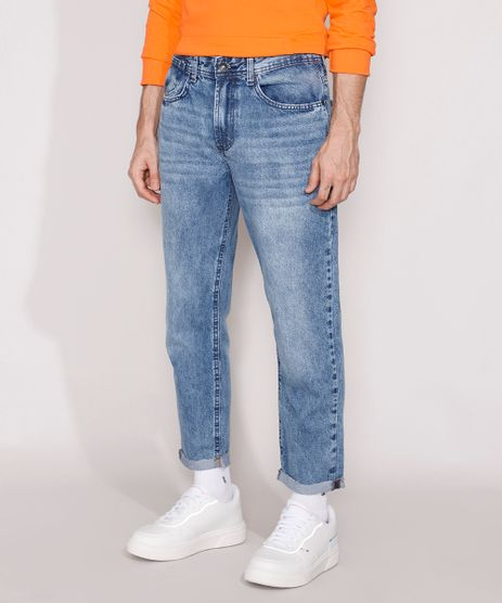 Calca-Jeans-Masculina-Dad-com-Barra-Dobrada-Azul-Escuro-9986321-Azul_Escuro_1