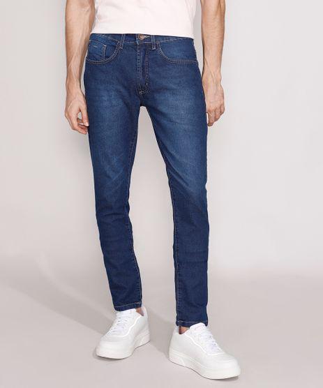 Calca-Jeans-Masculina-Slim-Azul-Medio-9980899-Azul_Medio_1