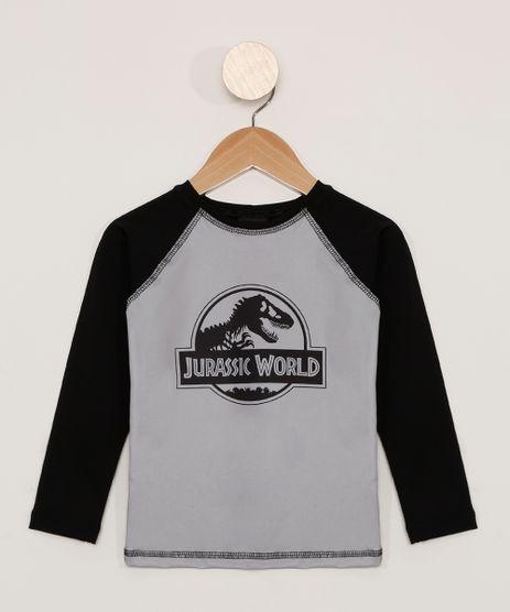 Blusa-de-Praia-Infantil-Raglan-Manga-Longa-Jurassic-Park-com-Protecao-UV50--Preta-9980517-Preto_1