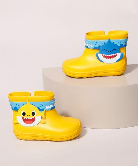 Galocha-Infantil-Grendene-Baby-Shark-com-Velcro-Amarela-9986725-Amarelo_1