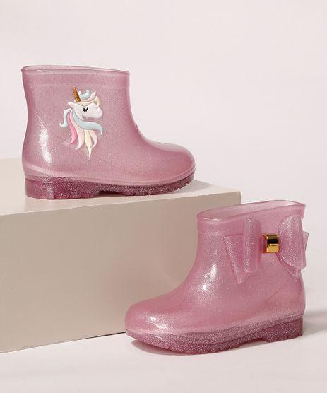 Galocha-Infantil-LueLua-Transparente-Unicornio-com-Laco-e-Glitter-Rosa-9987646-Rosa_1