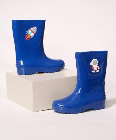 Galocha-Infantil-LueLua-Astronauta-e-Foguete-Azul-Royal-9987479-Azul_Royal_1