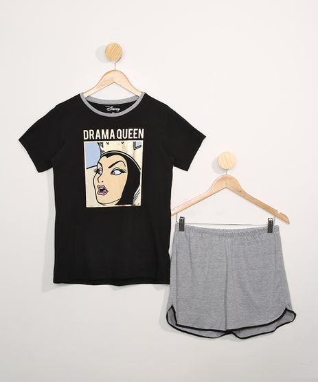 Pijama-Juvenil-Manga-Curta-Rainha-Ma-Preto-9978351-Preto_1