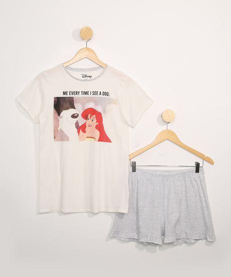 Pijama-Juvenil-Manga-Curta-A-Pequena-Sereia-Off-White-9978329-Off_White_1