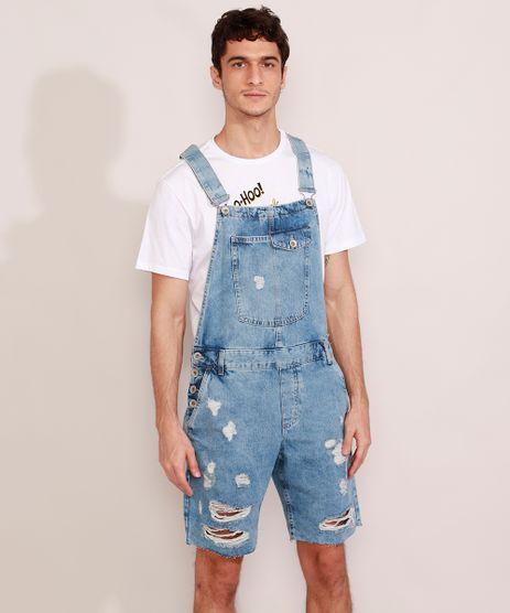 Macacao-Curto-Jeans-Masculino-Destroyed-Marmorizado-Azul-Claro-9978686-Azul_Claro_1